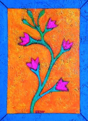 """""""Snapdragon"""" painting by BZTAT"""