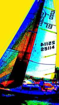 Sailboat painting BZTAT