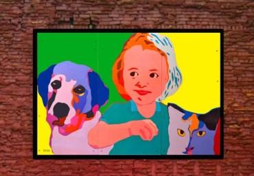 """""""Safe Animals Safe Kids Mural"""" by BZTAT"""