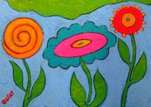 """Secret Garden"" painting by BZTAT"