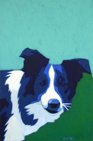 Custom Pet Portrait Painting by BZTAT
