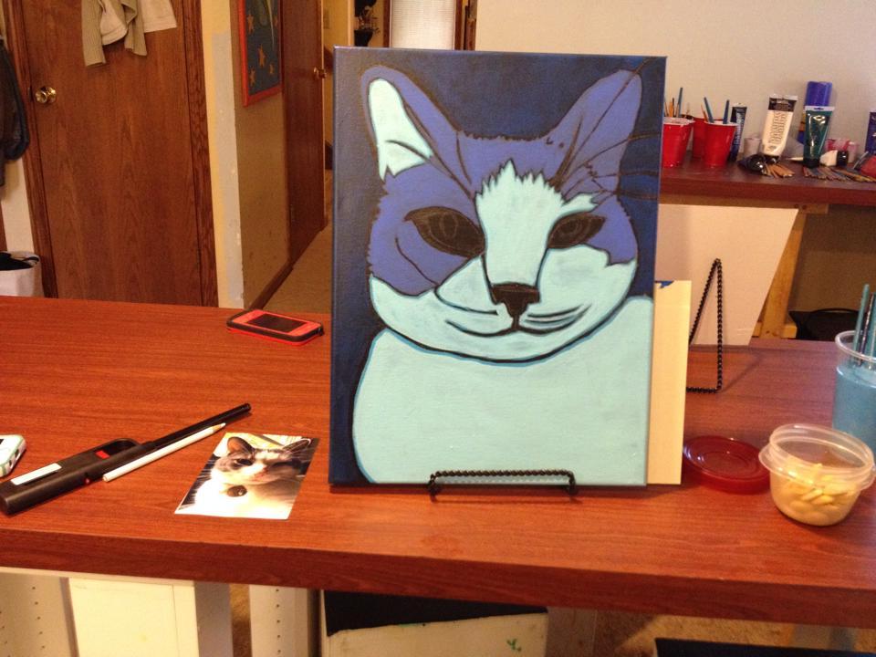 Pet  Portrait painting workshop by BZTAT
