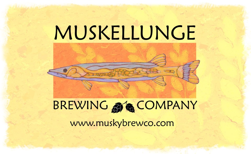 Muskellunge Brewing company logo