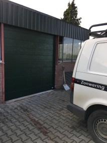 Sectionaal deuren groen achterhoek