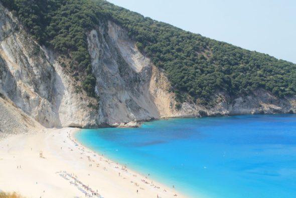 Kefalonia, Myrtos-baai