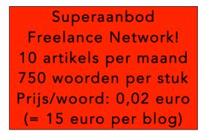 Voordelen aan lid worden van Freelance Network? Geen!
