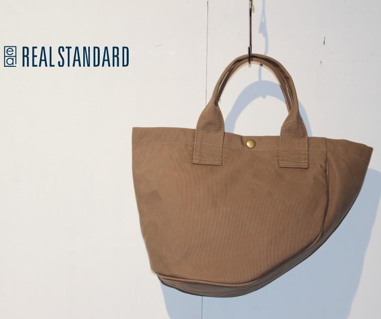 REAL STANDARD キャンバスヘルメットバッグ Luton HELMET BAG JT13003 (BEIGE)