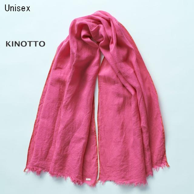 KINOTTO ガーゼストール Gaze Stole 251A-01 (PINK)
