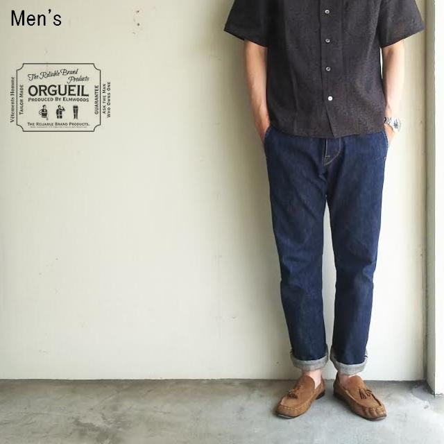ORGUEIL エラル55 デニムトラウザー ERAL55 Denim Trousers OR-1006 (ONE WASH)
