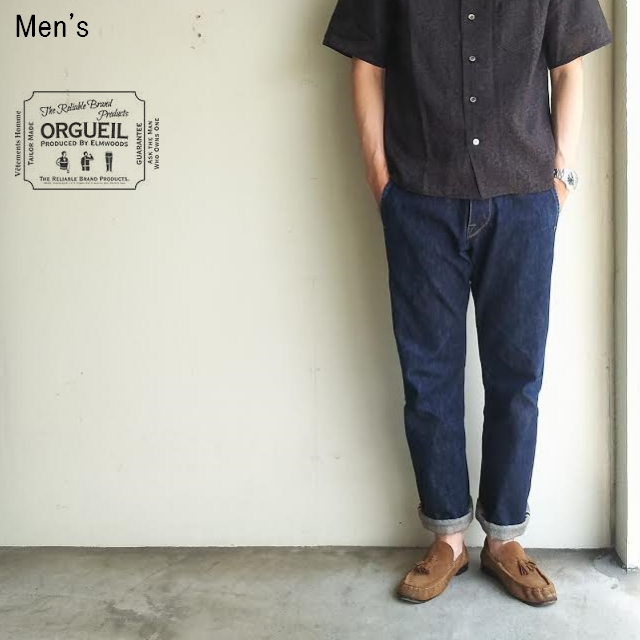 ORGUEIL エラル55 デニムトラウザー ERAL55 Denim Trousers OR-1006 (ONE WASH)