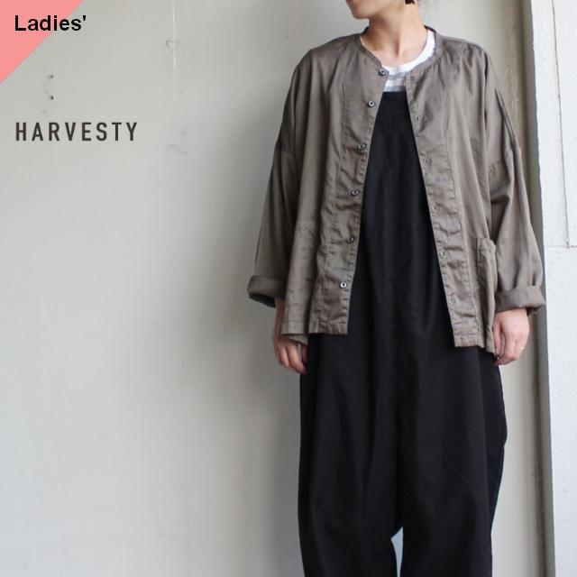 HARVESTY アトリエシャツ A41601 オリーブ