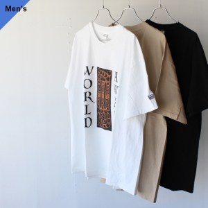 ENDS and MEANS エンズアンドミーンズ Print S/S Tee