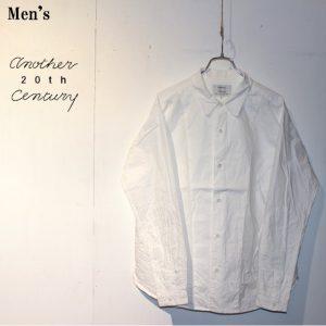 another 20th century デスクワークシャツ Deskwork Shirts ACB-2004 (WHITE)