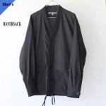 HAVERSACK ハバーサック 872031 コットンシルクシャツブルゾン Black