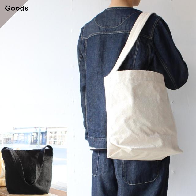 コットンスウェードキャンバスバッグ