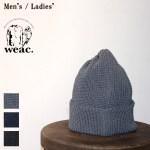 weac. 美濃和紙ニットキャップ PAPER SUMMER KNIT CAP (GRAY)