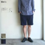 UpscapeAudience 裏毛イージーショーツ SWEAT EASY SHORTS AUD3377 (NAVY)