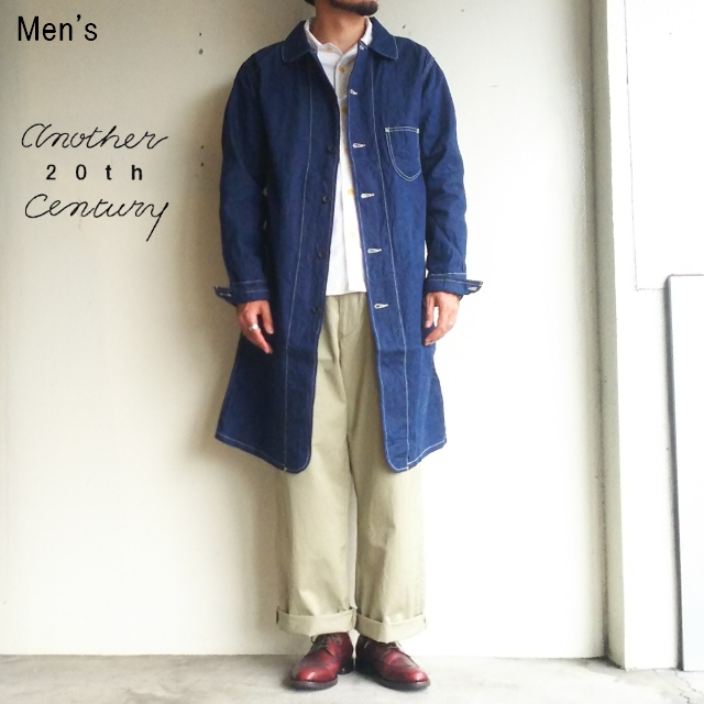 another 20th century ロングボクサーコート Long Boxer Coat ACS-1015 (ONE WASH)