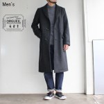 ORGUEIL オーバーコート Over Coat OR-4080A (CHARCOAL GRAY)