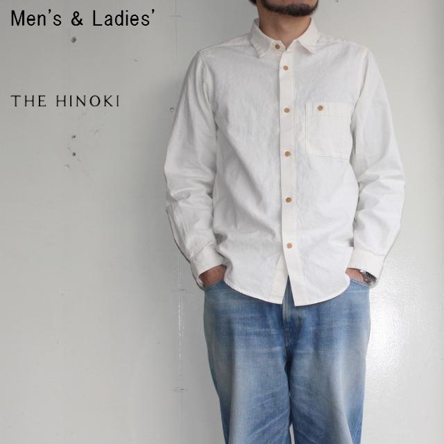 THE HINOKI ポケットワークシャツ Pocket Work Shirts (NATURAL)