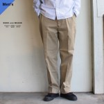 ENDS and MEANS  ワークチノ Work Chino  EM-ST-P01 (BEIGE)