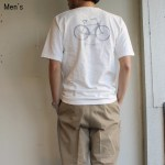 ORGUEIL バックプリントポケットT Print T-Shirt  OR-9015B (WHITE)