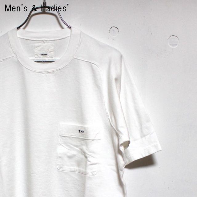 THE HINOKI 「THE」ポケットTシャツ (WHITE)