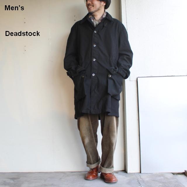Deadstock ガーメントダイM-59オーバーコート  (ブラック)