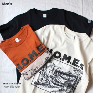 ENDS and MEANS H.O.M.E.s  EM191T025 3カラー