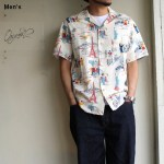 Orgueil アロハシャツ Open Collared Shirt ベージュ OR-5030B