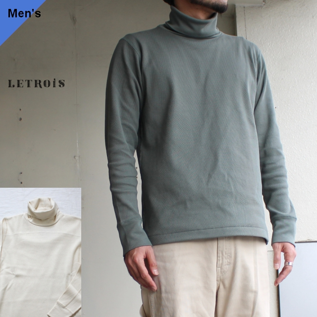 LETROIS サーマルタートルネック Jersey 2カラー