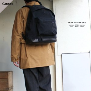 ENDS and MEANS  Daytrip Backpack デイパック EM-ST-A03-AW19 ブラック
