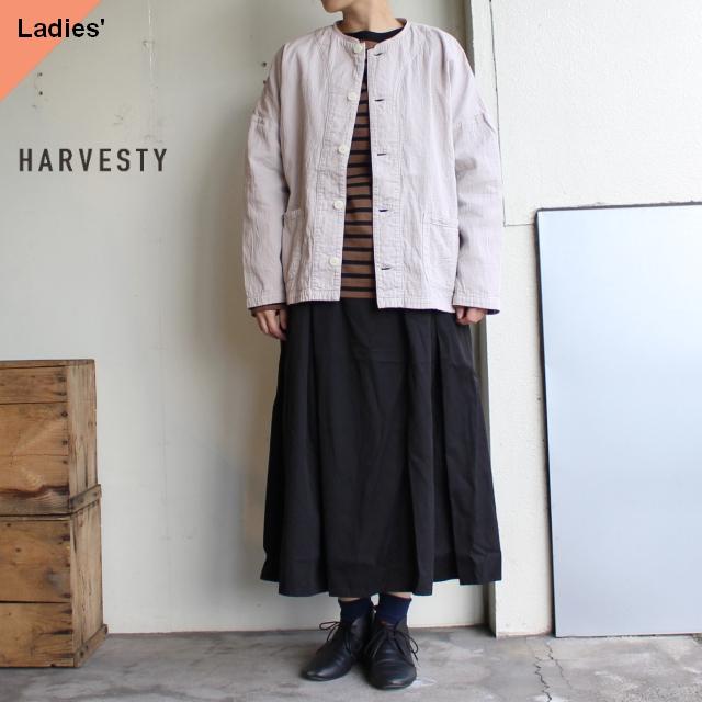 HARVESTY 二重織りアトリエジャケット Atelier Jacket A32001 グレージュ