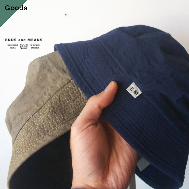 ENDS and MEANS Bucket Hat EM-ST-H06 2カラー