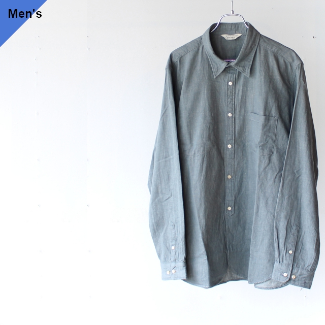Orgueil オルゲイユ Work Shirt ワークシャツ OR-5040B グレー