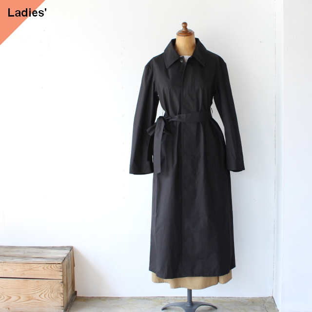 THE HINOKI オーガニックコットンコートドレス ザヒノキ TH20W-10 Black