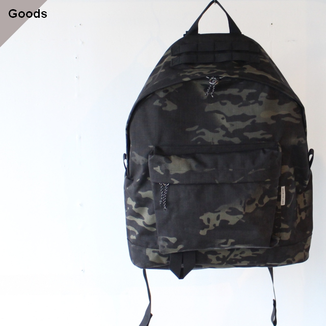ENDS and MEANS エンズアンドミーンズ Daytrip Backpack (Black Camo)