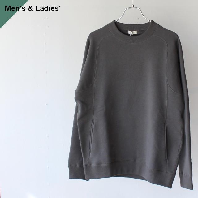 THE HINOKI ザヒノキ コットン裏起毛スウェットシャツ Gray TH20W-16