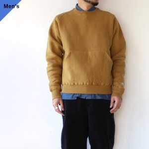 ENDS and MEANS スウェットクルー EM-ST-C01 Yellowish Brown