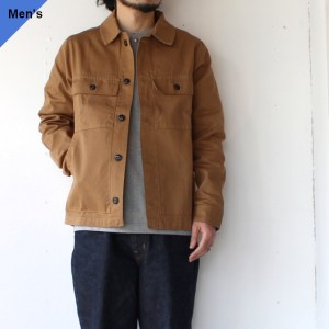 Yarmouth Oilskins The Drivers Jacket カーキブラウン