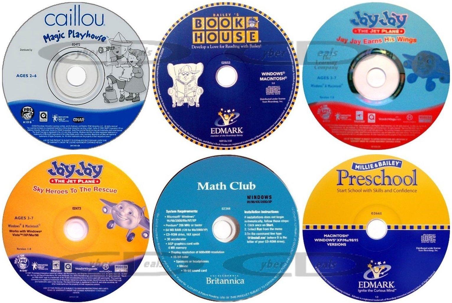 Preschool Age Early Learning Cd Roms Cyber Deals On Ebay