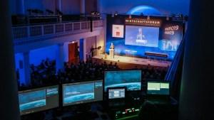WiFo19, HM19, Wirtschaftsforum Hannover Messe, Technik HCC, Veranstaltungstechnik Hannover, Leipniz Saal, SAP, IBM, Siemens