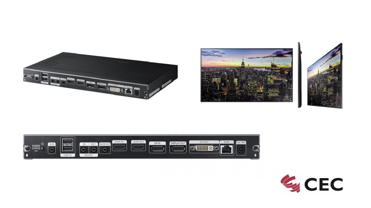 CEC | Samsung Signage Player | Set Box SBB-SSF