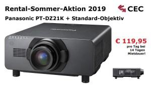 Panasonic PT-DT21K, RSA2019, Rental-Sommer-Aktion, Medientechnik Hannover, Dry Hire Hannover, Konferenztechnik Hannover