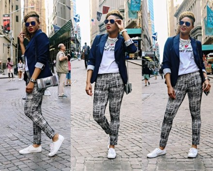 Sporty Luxe on Wall Street