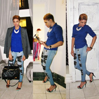 Casual Chic & Blues