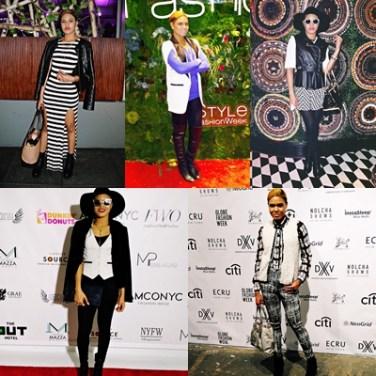 NYFW Black & White Outfits Recap