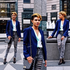 Classy Chic Meets Street Edge
