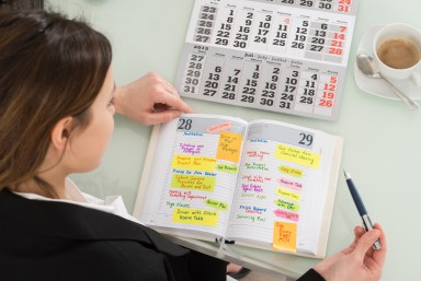 Improve your routine - plan your work, work your plan