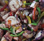 Salade de poulpe Créole Seychelloise